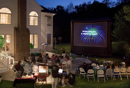 Amazing Fun Jumpers Backyard Movies Bringing The Drive In Experience To You